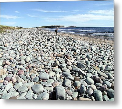 Polished By The Sea Metal Print by George Cousins