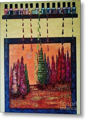 Polished Forest Metal Print by Jasna Gopic