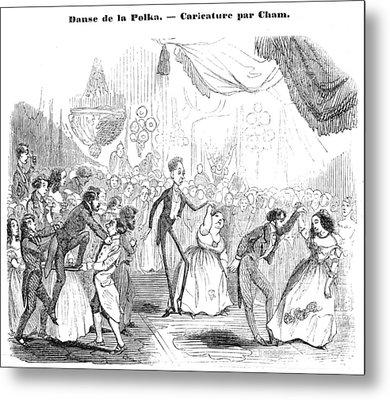 Polka, 1844 Metal Print