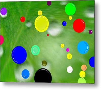 Polka Dots 1a Metal Print by Bruce Iorio
