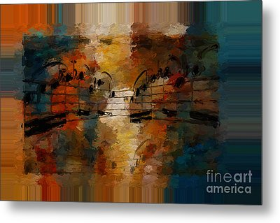 Polychromatic Postlude 5 Metal Print by Lon Chaffin