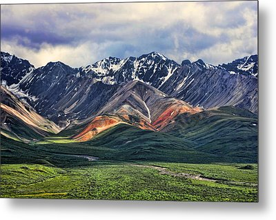 Polychrome Metal Print by Heather Applegate