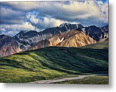 Polychrome Pass Metal Print by Heather Applegate