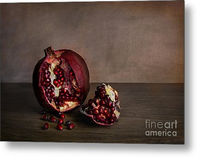 Pomegranate Metal Print by Elena Nosyreva