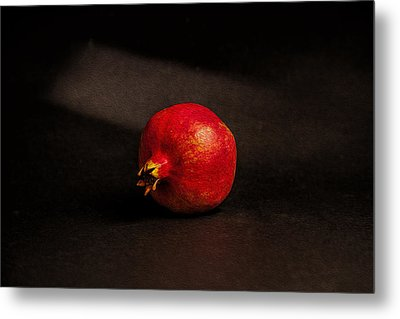 Pomegranate Metal Print by Peter Tellone