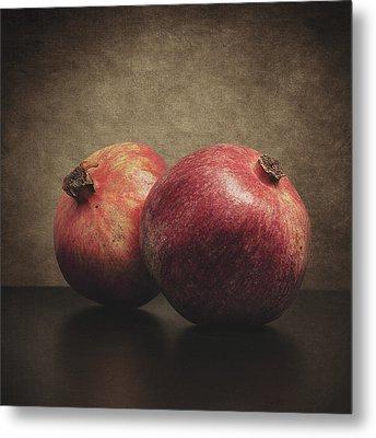 Pomegranate Metal Print by Taylan Apukovska
