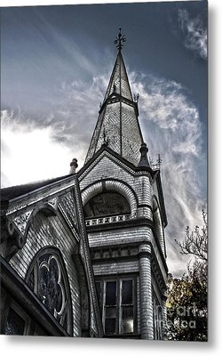 Pomona Seventh Day Adventist Church Metal Print by Gregory Dyer