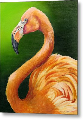 Pompous Metal Print by Phyllis Beiser