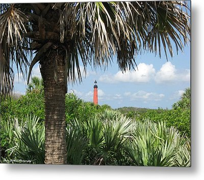 Ponce Inlet Lighthouse Florida 2 Metal Print by Brian Johnson