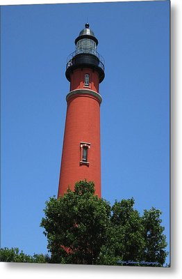 Ponce Inlet Lighthouse Florida Metal Print by Brian Johnson