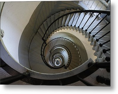 Ponce Stairs Metal Print by Laurie Perry