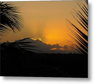 Metal Print featuring the photograph Ponce Sunrise by Daniel Sheldon