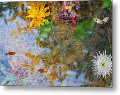 Pond Or Garden? Metal Print