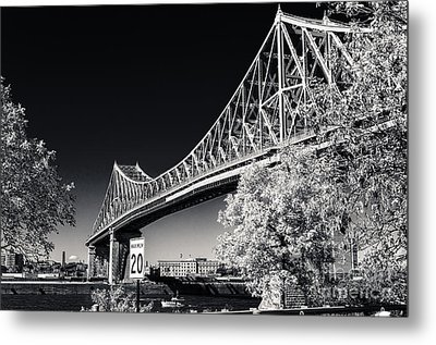 Pont Jacques Cartier Metal Print