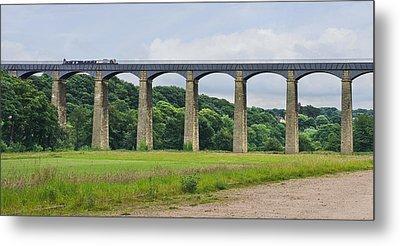Pontcysyllte Aqueduct Wales Metal Print