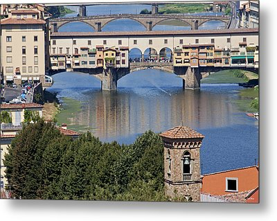 Ponte Vecchio Metal Print by Ivete Basso Photography