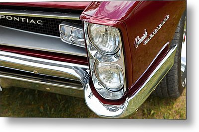 Metal Print featuring the photograph Pontiac Detail by Mick Flynn