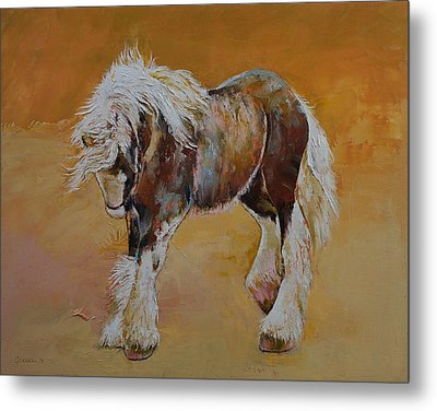 Gypsy Pony Metal Print by Michael Creese