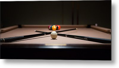 Pool Time Metal Print