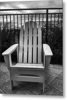 Poolside And Gulfside Metal Print by Julie Dant