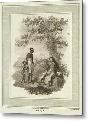 Poor White Man Metal Print by British Library