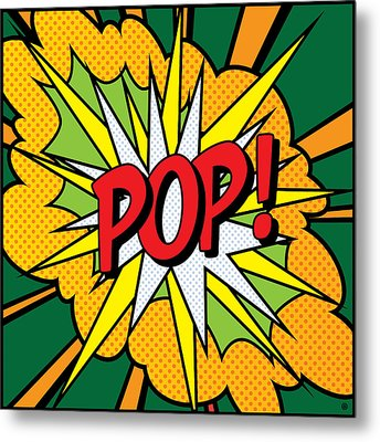 Pop Art 4 Metal Print by Gary Grayson