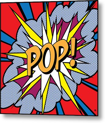 Pop Art Metal Print by Gary Grayson