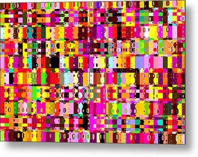 Pop Colors 16 Metal Print by Craig Gordon