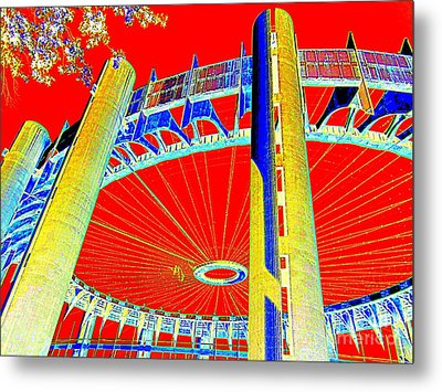 Pop Goes The Pavillion Metal Print