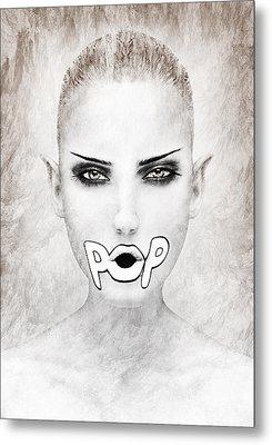 POP Metal Print by Yosi Cupano