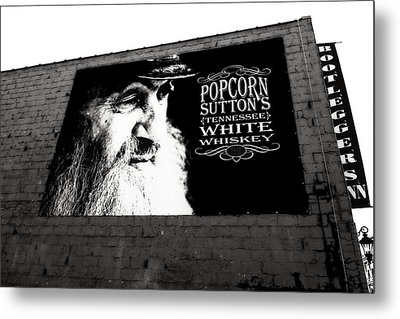 Popcorn Sutton's Tennessee White Whiskey Metal Print by Dan Sproul