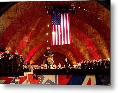 Metal Print featuring the photograph Pops Finale by Barbara McDevitt