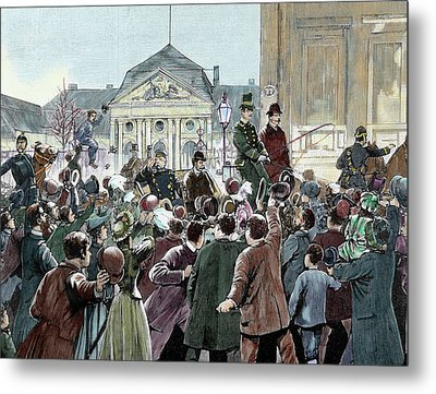Popular Ovation To The Prince Bismarck Metal Print by Prisma Archivo