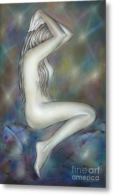 Porcelain Nude 080810 Metal Print