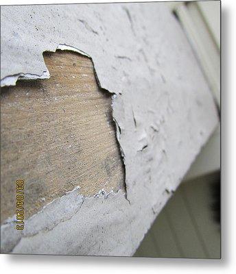 Porch Railing Metal Print by Jaime Neo