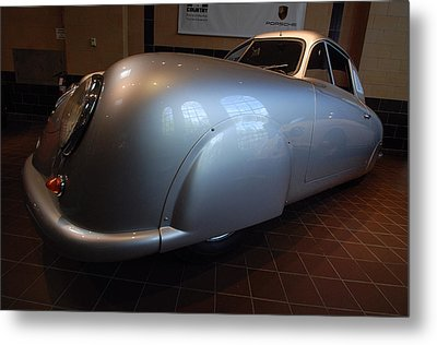 Metal Print featuring the photograph Porsche 1949 356 S L Gmund Coupe by John Schneider