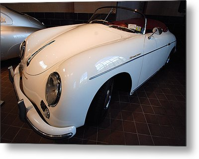 Metal Print featuring the photograph Porsche 1957 356 A Speedster by John Schneider