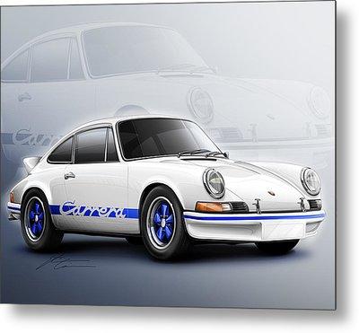 Porsche 911 Rs 1973 Metal Print