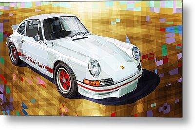 Porsche 911 Rs Metal Print by Yuriy Shevchuk