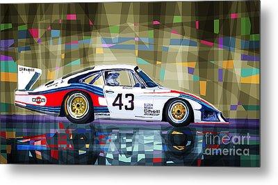 Porsche 935 Coupe Moby Dick Metal Print
