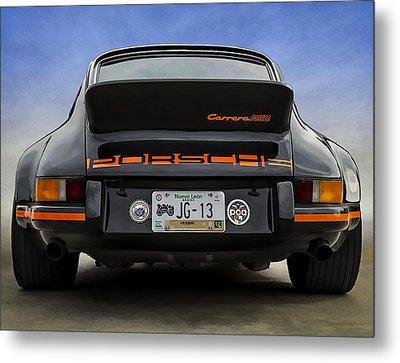 Porsche Carrera Rsr Metal Print by Douglas Pittman