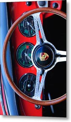 Porsche Custom Iphone Case 2 Metal Print by Jill Reger