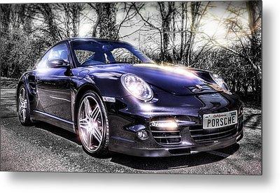 Porsche Metal Print by Ian Hufton