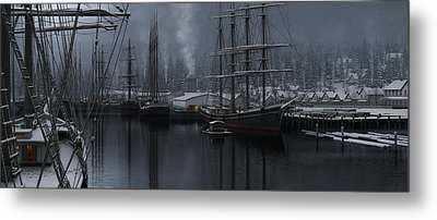 Winter's Warmth Metal Print by Ron Crabb