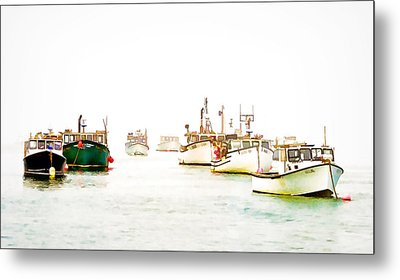 Port Bound  Chatham Cape Cod Photo Art Metal Print by Constantine Gregory
