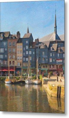 Port D'honfleur Metal Print