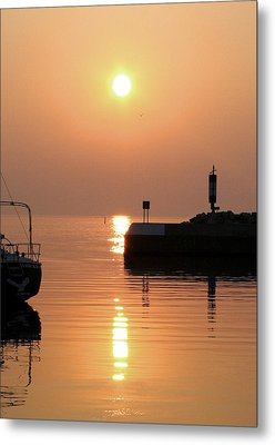 Metal Print featuring the photograph Port Elgin by The Art Of Marilyn Ridoutt-Greene