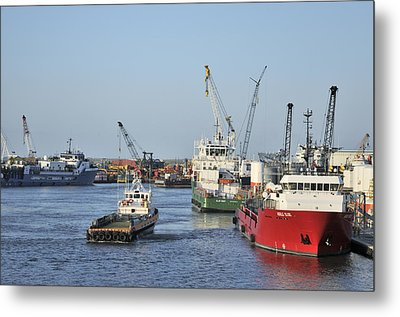 Port Fourchon Metal Print