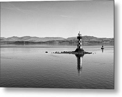 Port Glasgow Lighthouse Metal Print