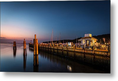 Port Jefferson Metal Print by Mihai Andritoiu